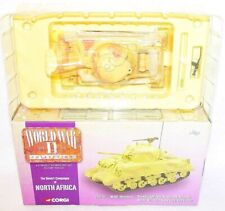 "Corgi World War II 1:50 British Army SHERMAN ""TROWBRIDGE"" TANK SYRIA 1943 MIB!"