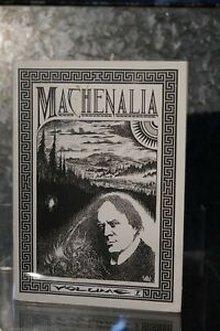 Machenalia Volume I | Tartarus Press 1990