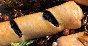 Small Poppyseed Kolache (Homemade Hungarian Poppyseed Roll)