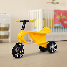 HOMCOM Ride On Toy Bike 3 Wheels Baby Kids Outdoor Toys Balance Toddler Walker