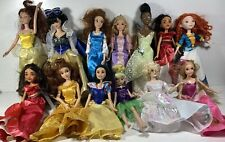 Disney Princess Classic Dolls/Clothing Lot Of 13 Including Fairy God Mother