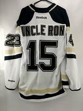 Uncle Ron Pittsburgh Penguins Reebok NHL Hockey Official License Jersey Size XL