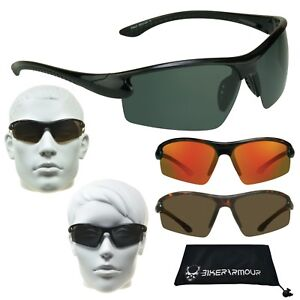 Polarized Sunglasses Half Frame Golf Fishing Running Cycling Driving Glasses
