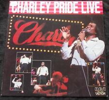 CHARLEY PRIDE Live LP