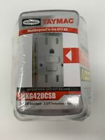 Taymac ZC1BK Cable Grip Black Pack of 3 Box of 15 Small