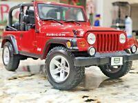 2007 -8 Jeep Rubicon Private Collectors Edition 1/18 Diecast Car Model 4 Maisto
