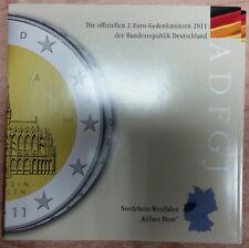 Germania 2 EURO MONETA COMMEMORATIVA 2011 A D F G J memorizzare freschi-Colonia Dom