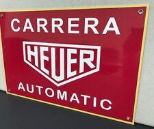 Carrera 911 Heuer Man Cave  Racing Vintage Reproduction Garage Sign