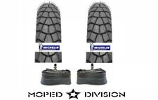 MICHELIN M45 17 X 2.25 MOPED TIRES W/ TUBES PACKAGE Puch Motobecane Peugeot
