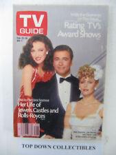 TV Guide    Feb, 22-28   1986   Jane Seymour In Crossings