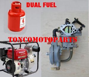 188F for pump engine GX390 dual fuel carburetor TONCO propane conversion kit