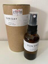 Sun.Day of London - Botanical Sleepy Mist. Blended Aromatherapy Oils. RRP £19