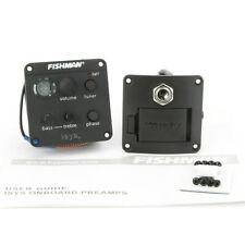Acoustic Guitar Pickups Fishman ISYS Plus Onboard Preamps Pickup 2-Band EQ Tuner