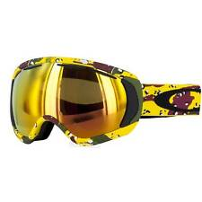 New Oakley Canopy Snow Goggle Tanner Hall High Grade Camo/Fire Iridium $180
