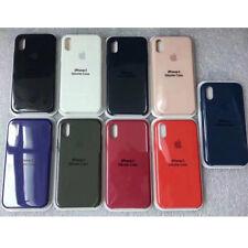Oficial Auténtico Funda de silicona suave en Caja para iPhone X 8 8 7 6s plus