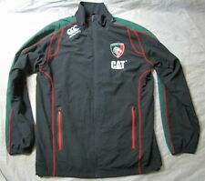 LEICESTER TIGERS RUGBY ZIP jacket CANTERBURY Caterpillar adult SIZE M