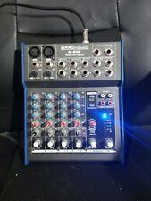 Pronomic M - 602 Premium 6 Input 2 Bus Mixer Mischpult