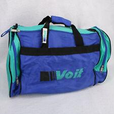 VOIT Vtg Retro 90s Blue Teal Tennis Sports Work Out Gym Duffel Duffle Bag