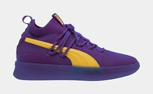 New Puma Clyde Court City Pack Los Angeles Lakers Basketball shoes  191712-04