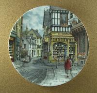 Window Shopping THE BAKER'S SHOP Plate #4 Colin Warden Royal Doulton HTF