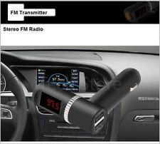 Auto KFZ Bluetooth Freisprecheinrichtung FM Transmitter Mic USB Ladegerät 4.2A