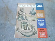 SEPT 1961 TRUE vintage mens adventure magazine --- BODIES IN THE WALL