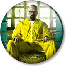 """Walter White Heisenberg Breaking Bad 25mm 1"""" Pin Button Badge Jesse Pinkman Meth"""