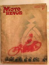 MOTO-REVUE ALBUM SALON 1936