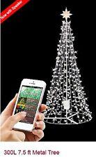 NEW GE I TWINKLE LIGHT SHOW TREE 7.5'  includes speaker