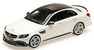 Brabus 600 Mercedes AMG S 63 S 2015 weiss white 1:43 Minichamps