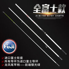 14FT 15FT Heavy Duty Saltwater Surf Rod 3 Piece Fuji Guides Reel Seat 100-250g