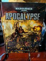 Warhammer 40k - Apocalypse Rule Book 6th Ed. - Games Workshop  - OOP