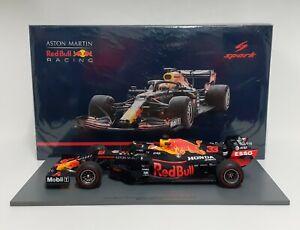 Model 1:18 Car F1 Spark Red Bull Honda RB16 Verstappen 2020 Diecast Static