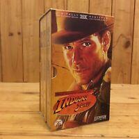Indiana Jones Original Trilogy (VHS) Complete Box Set - AU Seller Free Postage