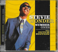STEVIE WONDER - Number ones - THE DUTCH COLLECTION CD 20TR MOTOWN 2007 RARE!