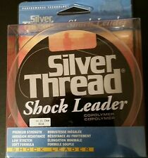 SILVER THREAD 16 POUND FISHING SHOCK LEADER - 55 YDS.