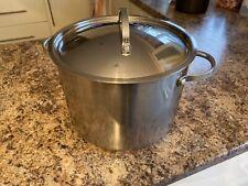 Prestige 7.6 L Pot en acier inoxydable avec couvercle (recueillir de Larbert fK5...