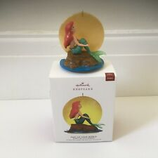 More details for hallmark keepsake 2019 disney little mermaid part of your world ornament boxed