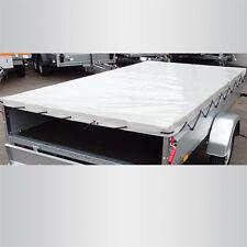 STEMA Flachplane Plane grau Kasteninnenmaß 251 x 153 cm | Aussenmaß 257 x 159 cm