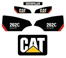 262C STICKER SET SKID STEER CATERPILLAR CAT DECAL KIT 262 LOADER