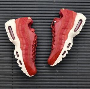 Nike Womens Air Max 95 Premium Light Redwood 807443-801 UK5 UK5.5 EUR38.5 EUR39