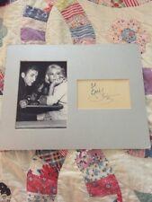 BOBBY DARIN – Sandra Dee Photograph And Autograph