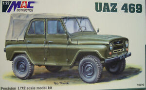 Uaz 469, MAC , 1:72, Plastic Model Kit, New