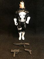 Marvel Super Heroes The Punisher Cap Firing Figure Almost Complete ToyBiz 1990