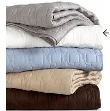 Hotel Collection Deco Champagne Quilted Euro Sham $100.00