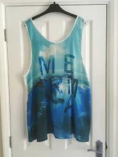 NEXT Beachwear Ladies 'mermaid' Cover up Sleeveless Top Size 18