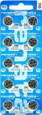15 pc 390 Renata Watch Batteries SR1130SW FREE SHIP 0% MERCURY