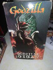Godzilla Vs. Gigan ~ Science Fiction ~ Vhs