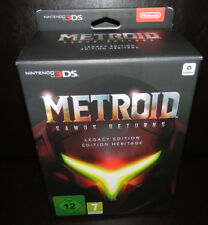 Nintendo 3ds Metroid Samus Returns Legacy dans L'emballage / Big Box Utilisé Com