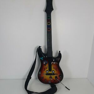 Xbox 360 Redoctane wireless Guitar Hero Les Paul , Tested Working